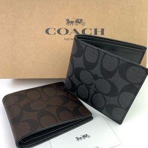 Coach Men's Signature Wallet